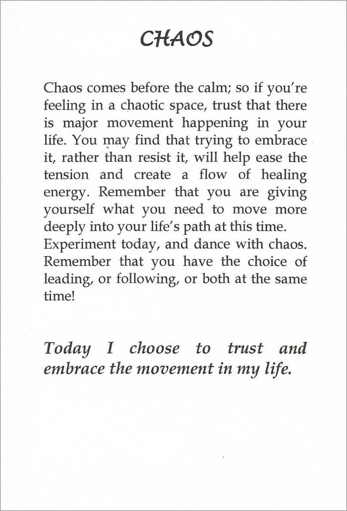 chaos card